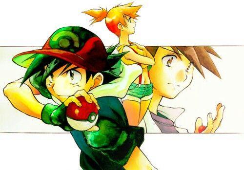 Love Triangle - Ash x Misty x Gary | Pokemon couples ...