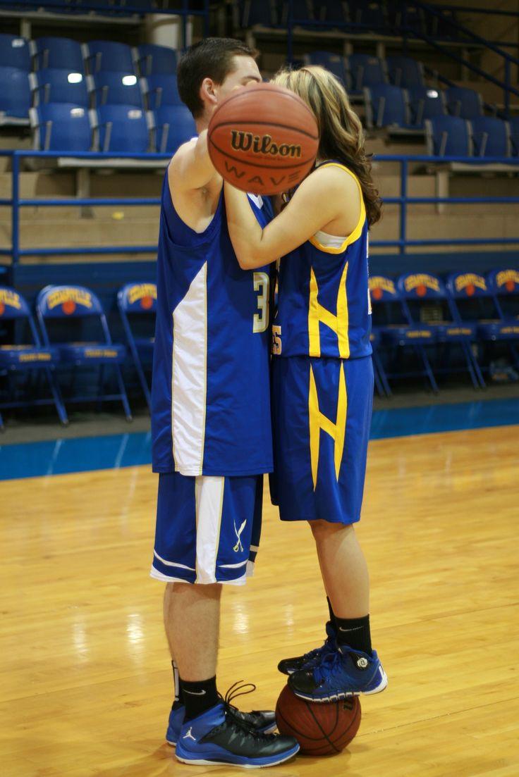 Basketball couple pics