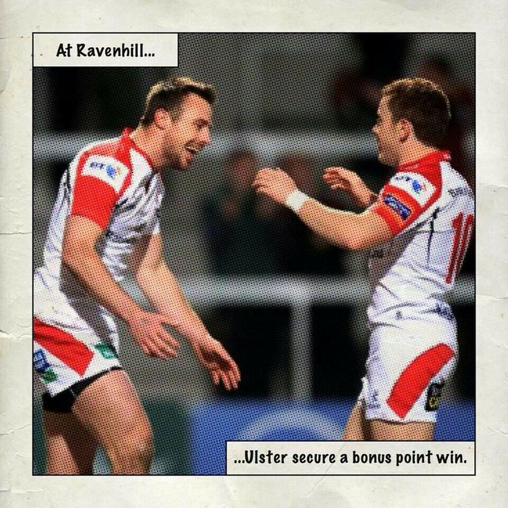 Tommy Bowe and Paddy Jackson