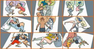 La tua relazione funziona? Scoprilo da come dormite!