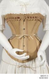 Corset, 1885-1890 - Powerhouse Museum Collection