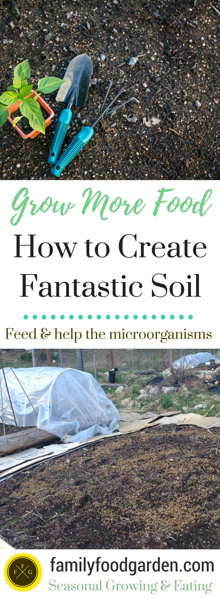 Creating Fantastic Soil (with the help of Microorganisms)