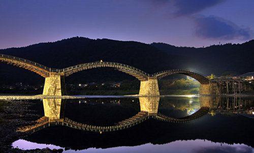 Los 25 puentes más bellos del mundo - kintaikyo Japan