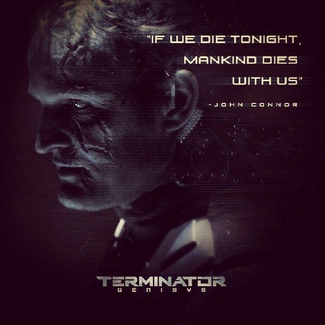 The battle of today is the fate of tomorrow! #TerminatorGenisys July 3 in 3D #JohnConnor #ArnoldSchwarzenegger #hollywoodhits #ActionMovies