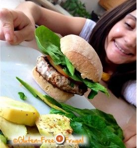 Gluten-Free Turkey Burger