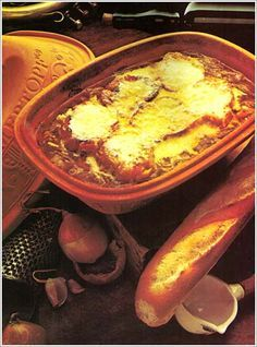 FRENCH OVEN ONION SOUP (clay pot, Romertopf))