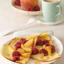 Plattekaaspannenkoeken met fruit - 7PP