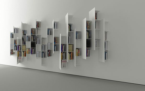 23 More Creative Bookshelf Designs | DeMilked