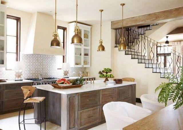 42 Amazing And Modern Mediterranean Architecture Home Decor Mediterranean Kitchen Design Kitchen Interior Mediterranean Home Decor