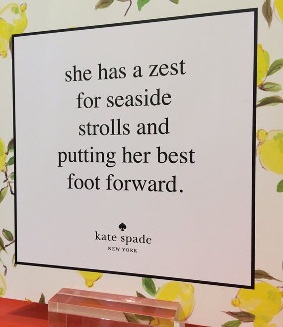 Kate Spade Capri Collection 2014
