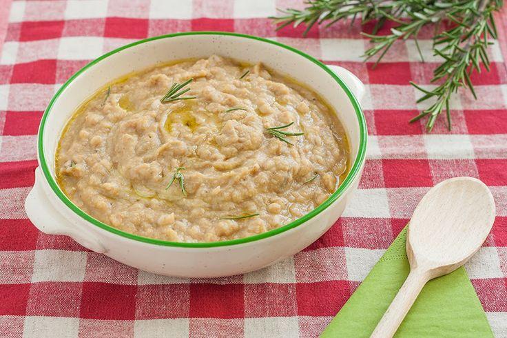Il farro della Garfagnana nella zuppa di cicerchie #toscana #prodotti tipici