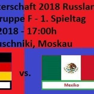 #Fussball #Weltmeisterschaft 2018 #in #Russland  Gruppenphase - #Gruppe F - 1. Spieltag:   #DEUTSCHLAND - Mexiko 1 #person #News  #FC #Saarbruecken / #Saarland | Fussball-Weltmeisterschaft 2018 #in #Russland http://saar.city/?p=79168
