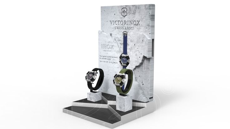 Display Montres / Watches Display designed by Pozzo di Borgo Styling.