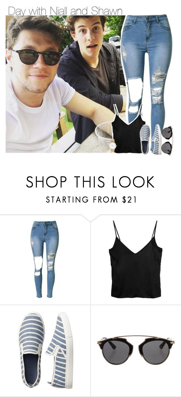 """""""day with Niall and Shawn"""" by xxbbygrl ❤ liked on Polyvore featuring Acne Studios, Gap, Christian Dior and ASOS"""