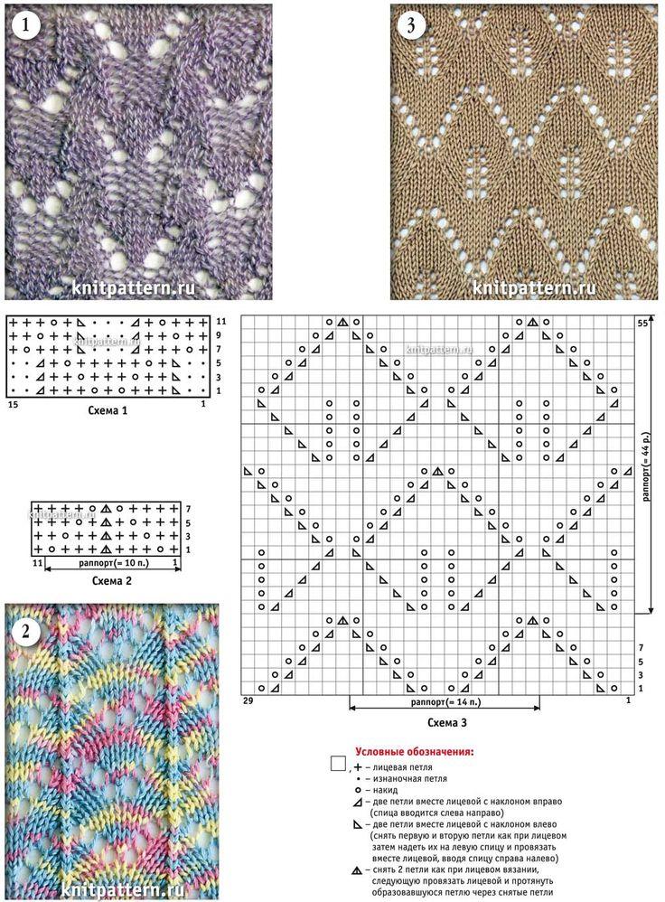 языки рисунки вязания спицами со схемами построен