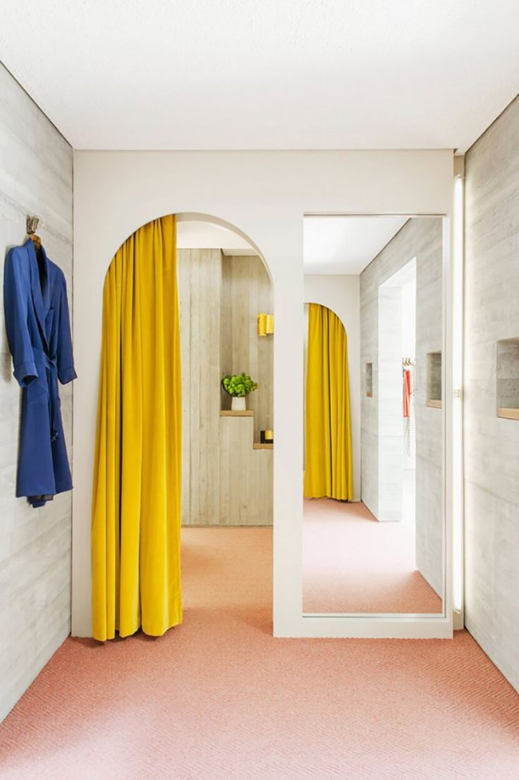 652 best buttercup yellow images on pinterest yellow for Boutique room design