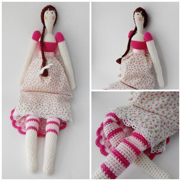 43 best trabajos mama images on Pinterest | Amigurumi doll, Crochet ...