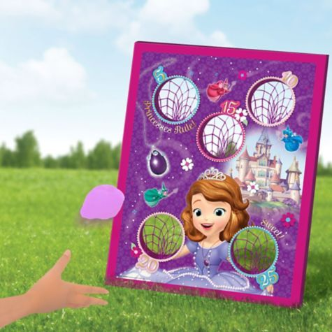 Sofia the First Bean Bag Toss Game 5pc - Party City