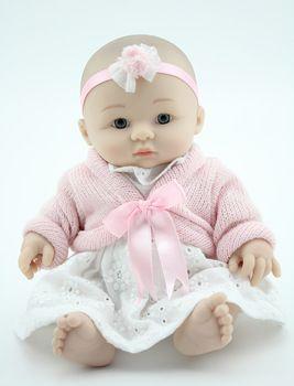 Aliexpress.com: Comprar 10 pulgadas de vinilo bebé Reborn Doll Mini juguete de la muñeca de vinilo Baby Alive realista sentado Real juguetes del bebé hechos a mano del regalo del bebé de calidad superior de campana de juguete fiable proveedores en NPK Reborn Doll Nursery