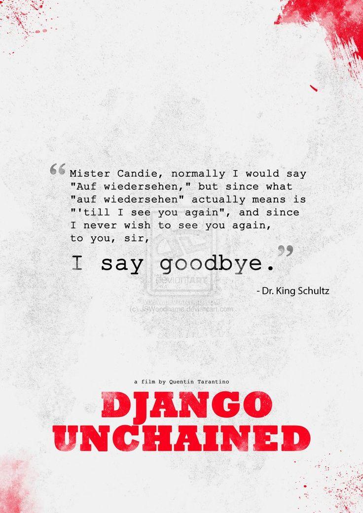 Django Unchained- I love Dr. Schultz!
