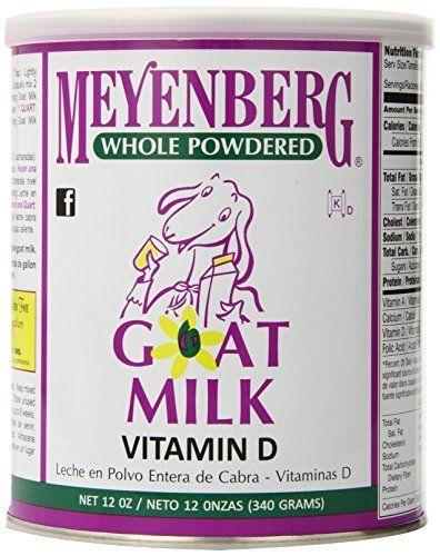 Meyenberg Whole Powdered Goat Milk, Vitamin D, 12 Ounce //Price: $9.69 & FREE Shipping //     #hashtag2