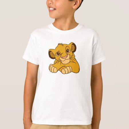 Simba Disney T-Shirt - tap to personalize and get yours