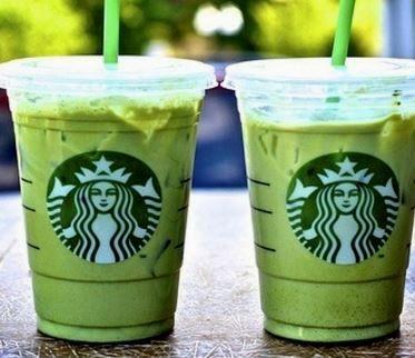 ... starbucks-secret-menu-skinny-mint/ Almond Milk, Starbucks Green, Food