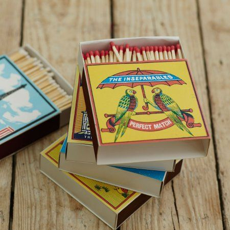Inseperables Matchbox | Fireside | Graham & Green