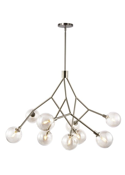 Sycamore 9 chandelier lbl lighting