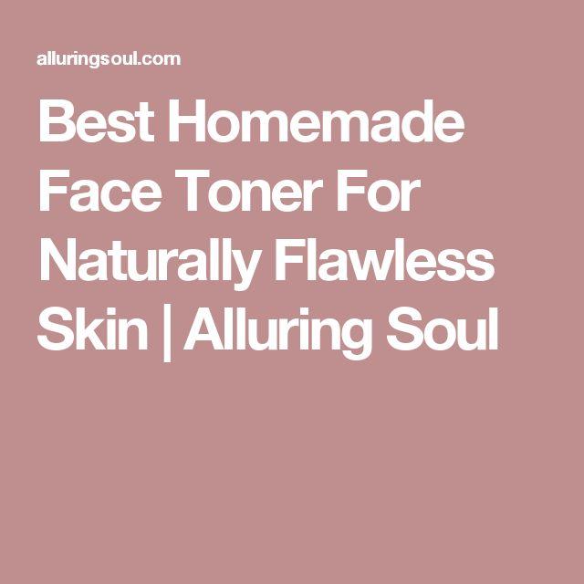 Best Homemade Face Toner For Naturally Flawless Skin | Alluring Soul