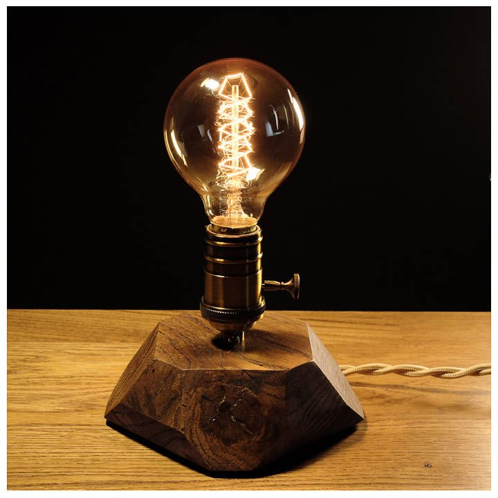 Retro Edison Lamp With Dimmer For Smooth Brightness Control