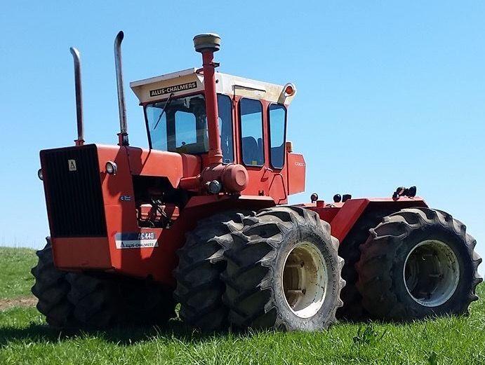 Antique Tractors 4 Wheel Drive : Best images about allis chalmers on pinterest models