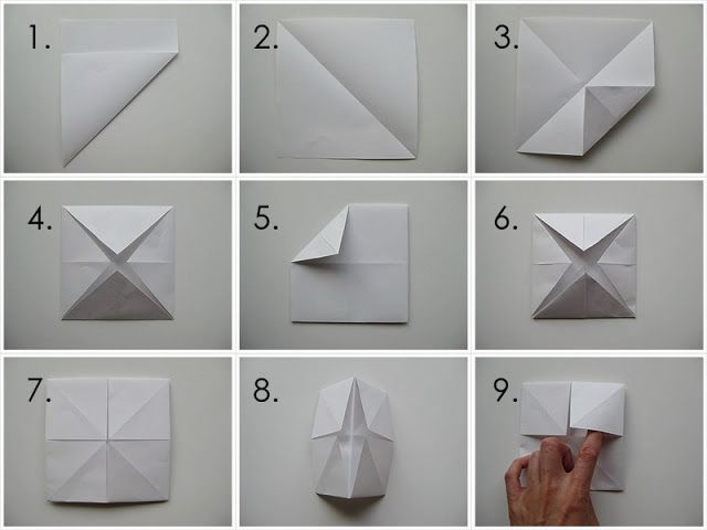 My Handmade Home: Tutorial: Origami Fortune Teller