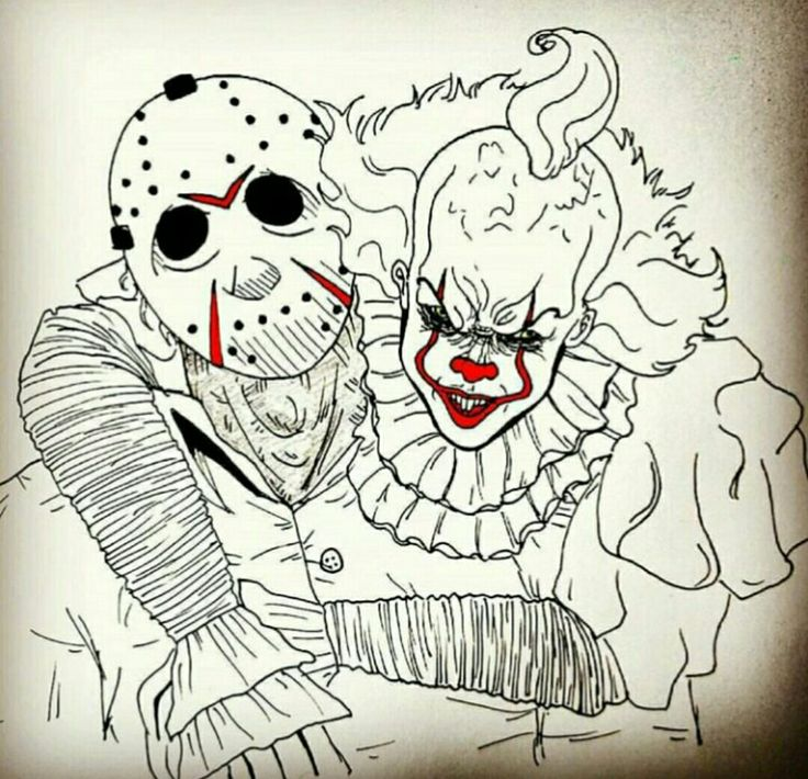 Jason and pennywise