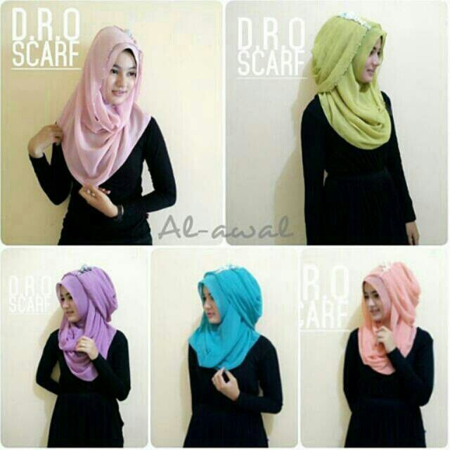 Saya menjual Jilbab/ Kerudung instan Al awal ori Dro scarf seharga Rp60.000. Dapatkan produk ini hanya di Shopee! {{product_link}} #ShopeeID