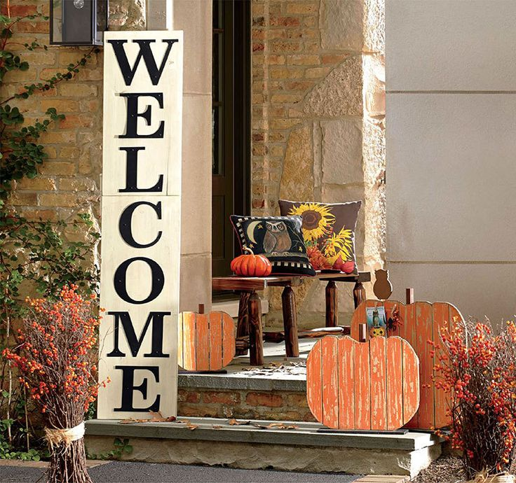 whos ready for fall these inspiring front porch decorating ideas will help you add just the right autumn dcor to your front porch - Fall Outdoor Decorations