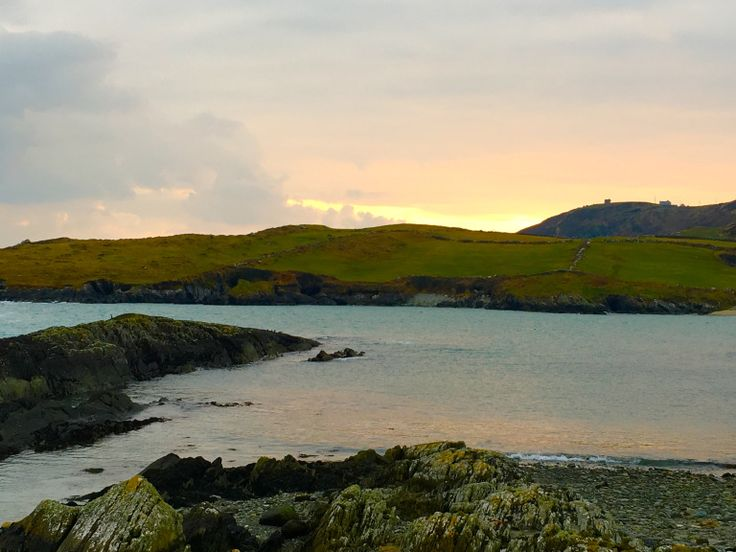 sunset in Crookhaven where you can enjoy your most southerly pint in Ireland