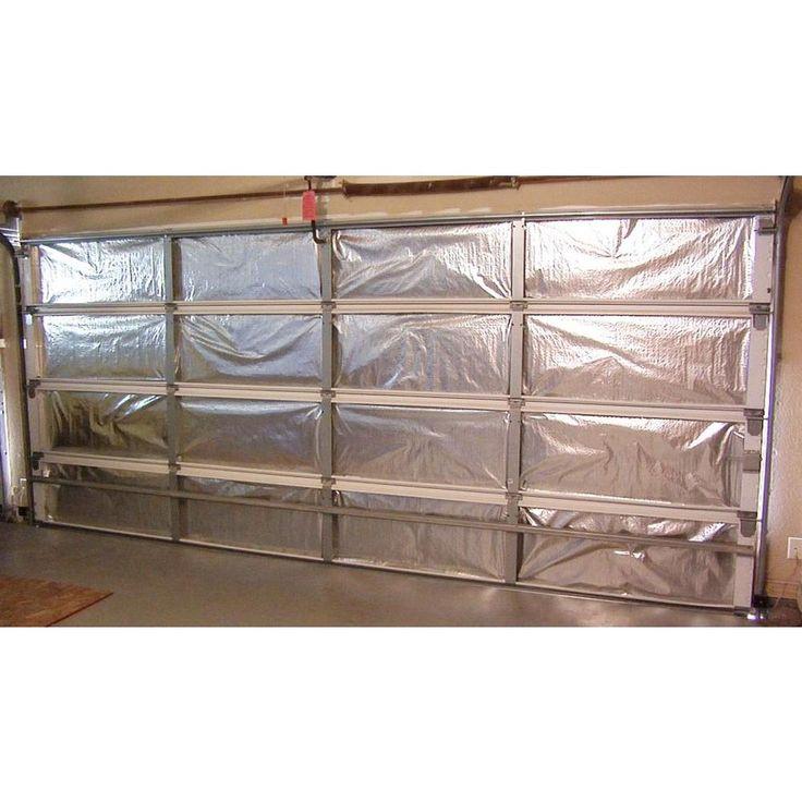 Reach Barrier Silvertanium Garage Door Insulation Kit3122