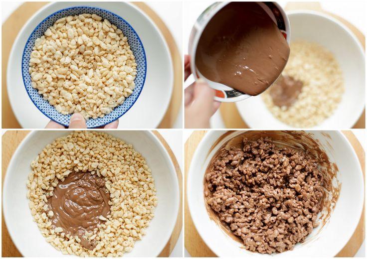 Deze koekjes zijn een groot favoriet hier in huis. De meeste van jullie kennen ze waarschijnlijk al, cornflakes koekjes! Maar in plaats van cornflakes heb ik hier gepofte rice krispies gebruikt. Ze…