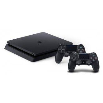 Sony PlayStation 4 Slim 1TB + 2x Dual Shock 4 controllers