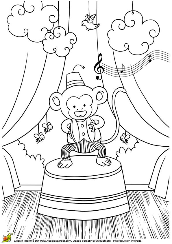 374 best images about coloriages animaux de la jungle et - Coloriage animaux de la jungle ...