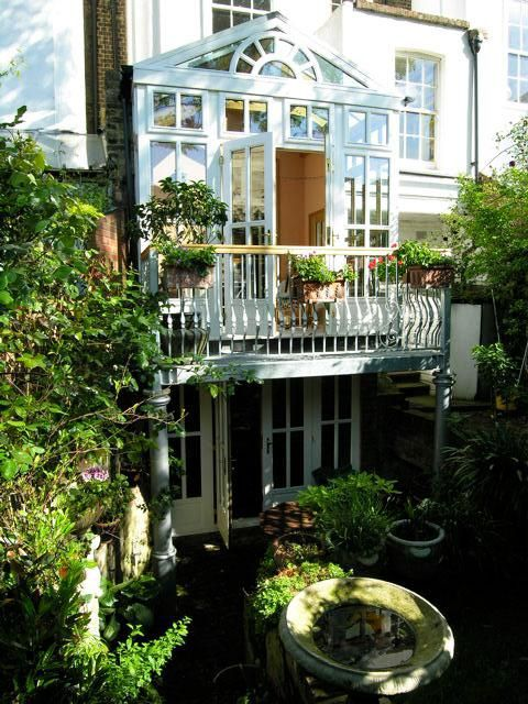 wintergarten oder richtiger anbau. Black Bedroom Furniture Sets. Home Design Ideas