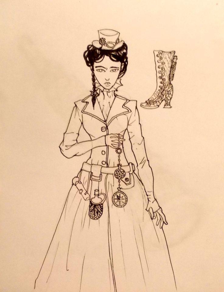 Steampunk Lady by Me