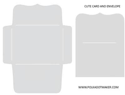Best Envelopes And Templates Images On   Envelopes