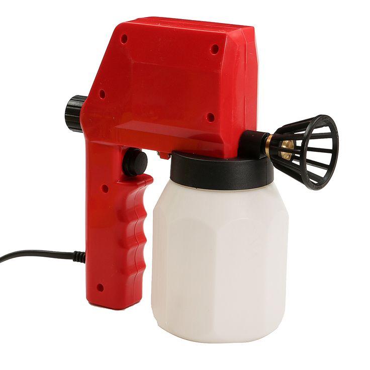 Pistola de pulverización de pintura sin aire eléctrico 220V PG350 Pistola de pulverización de pintura de hogar Máquina de pulverización