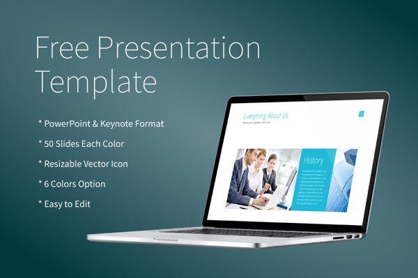 Free Powerpoint/Keynote Presentation Template on Behance