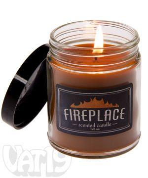 Fireplace Jar Candle - 6.5 oz