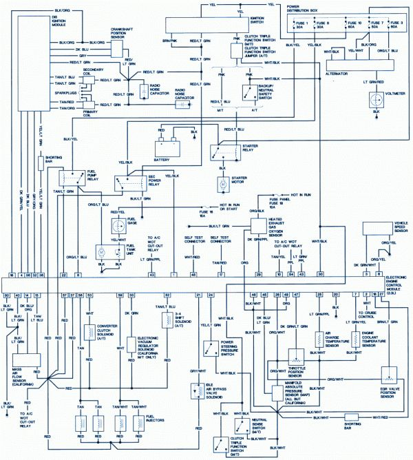 1996 ford explorer engine wiring diagram and ford ranger