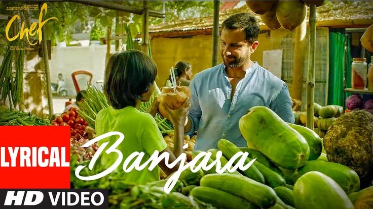 """Chef: """"Banjara"""" Lyrical Video Song   Saif Ali Khan   Vishal Dadlani   Raghu Dixit - Download This Video   Great Video. Watch Till the End. Don't Forget To Like & Share """"Chef Songs""""   """"banjara song""""   Latest Bollywood Songs 2017 Gulshan Kumar in association with Abundantia A Bandra West Pictures Production presents the video song """"Banjara"""" composed by Raghu Dixit written by Ankur Tewari and sung by Vishal Dadlani from the upcoming Bollywood movie """"Chef""""The film is directed By Raja Krishna…"""