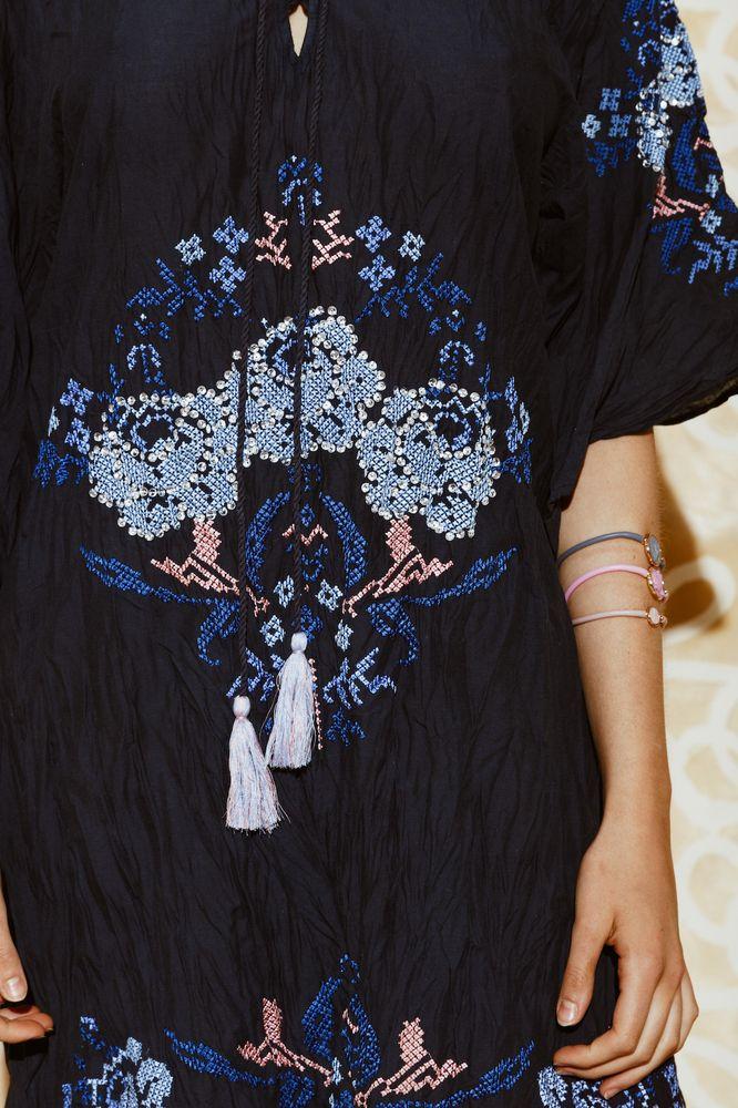 Ruby Yaya | Summer 207 Detail embroidered. #summerdress